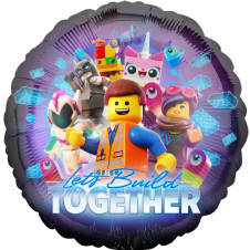 The Lego Movie 'Let's Build Together' Foil Helium Balloon